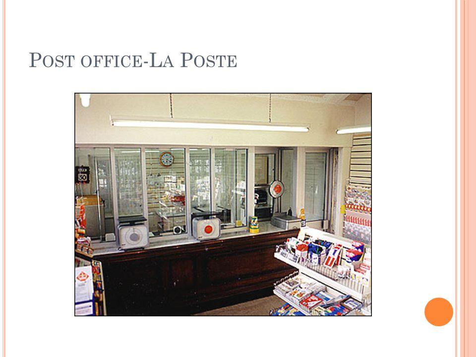 P OST OFFICE -L A P OSTE