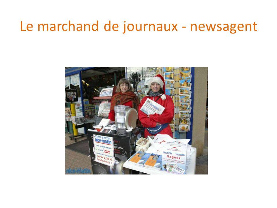 Le marchand de journaux - newsagent