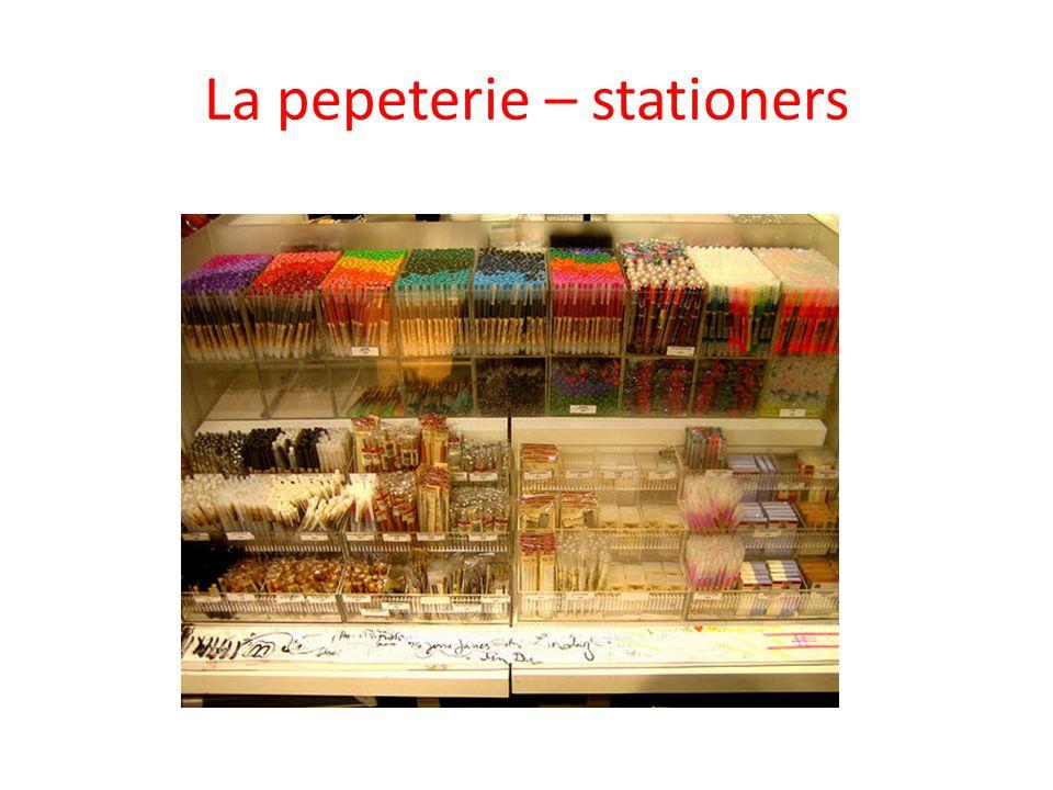 La pepeterie – stationers