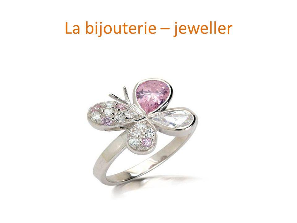 La bijouterie – jeweller
