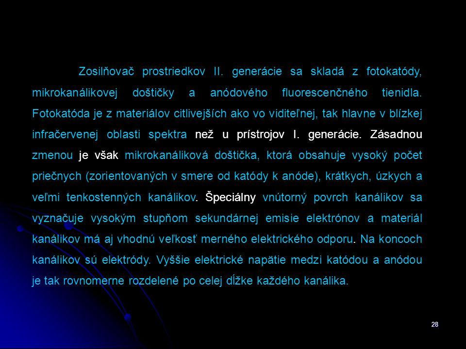 28 Zosilňovač prostriedkov II.