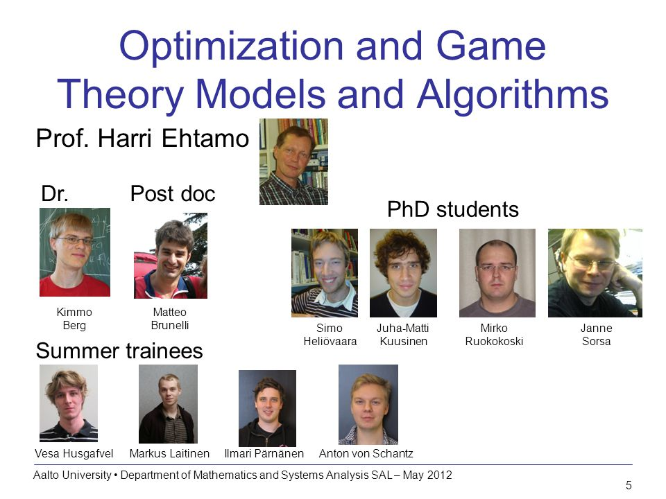 6 Research topics Optimization and game theory models and algorithms Optimization algorithms for pricing of goods –Focus on monopoly pricing problems –How to compute optimal bundles under limited information.