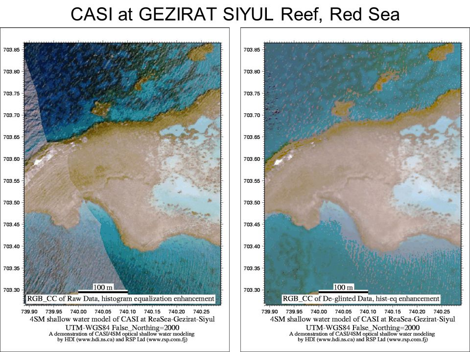 CASI at GEZIRAT SIYUL Reef, Red Sea