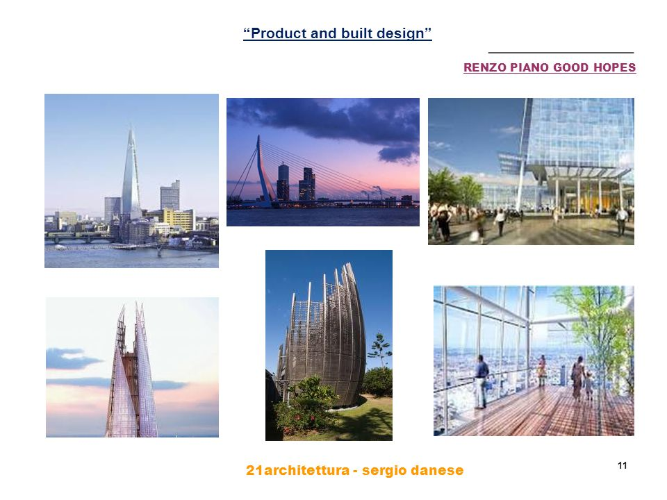 21architettura - sergio danese 11 RENZO PIANO GOOD HOPES ________________ Product and built design