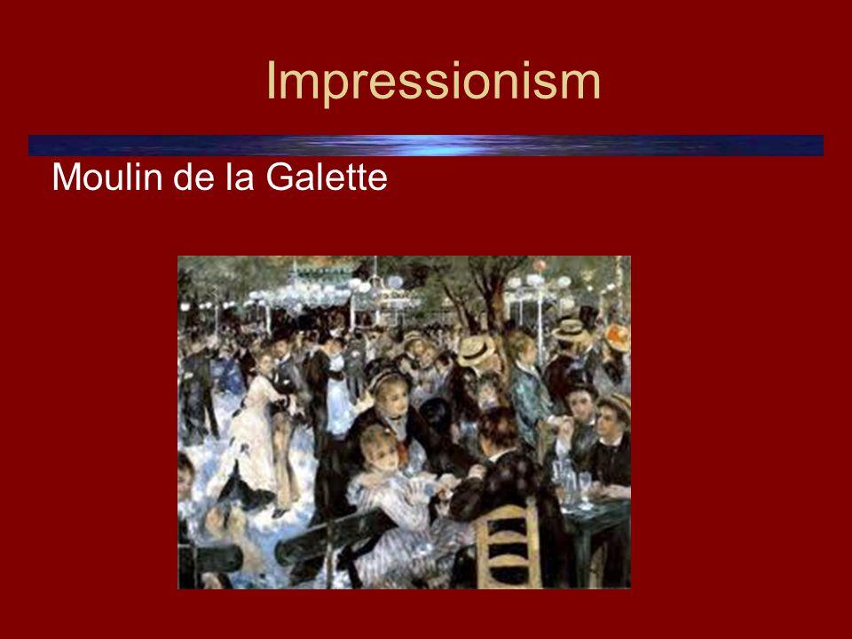 Impressionism Moulin de la Galette