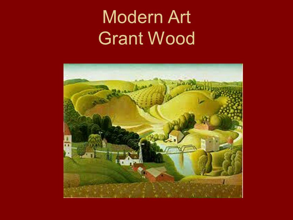 Modern Art Grant Wood