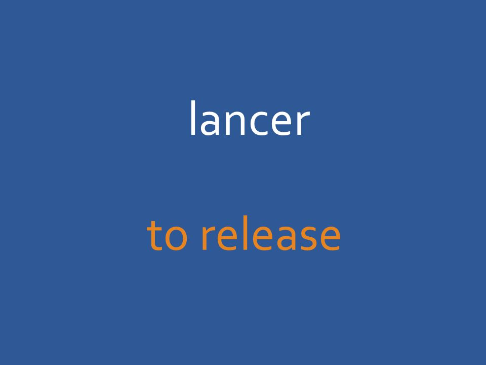 lancer to release