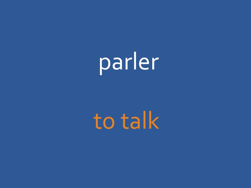 parler to talk