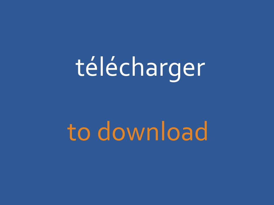 télécharger to download