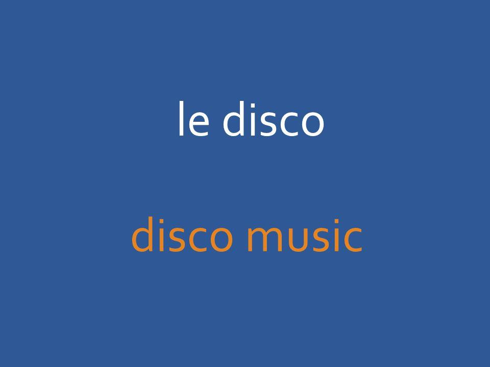 le disco disco music