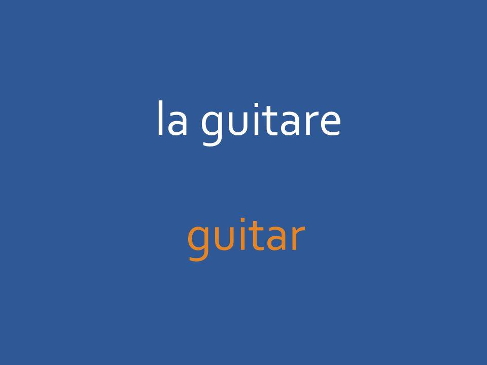 la guitare guitar