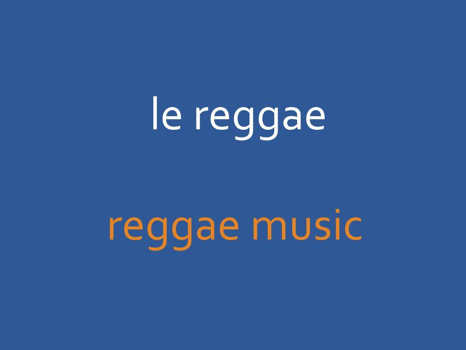 le reggae reggae music