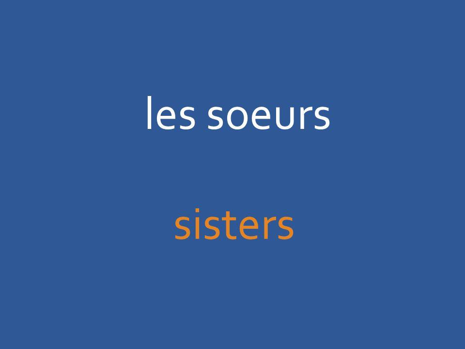 les soeurs sisters