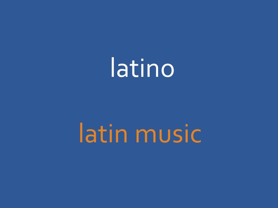 latino latin music