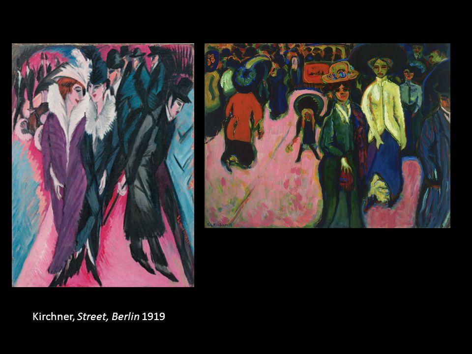 Kirchner, Street, Berlin 1919