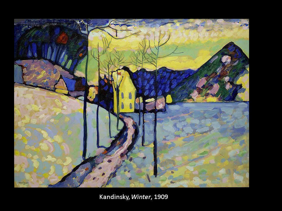 Kandinsky, Winter, 1909