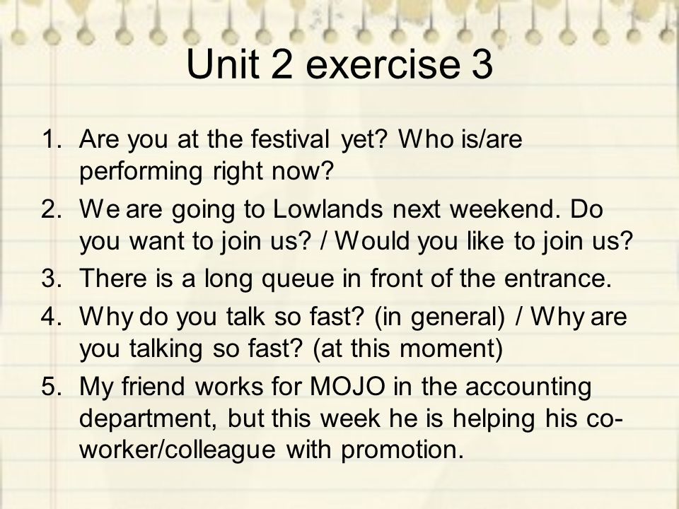 Unit 2 exercise 3 6.In which hotel is One Direction staying.