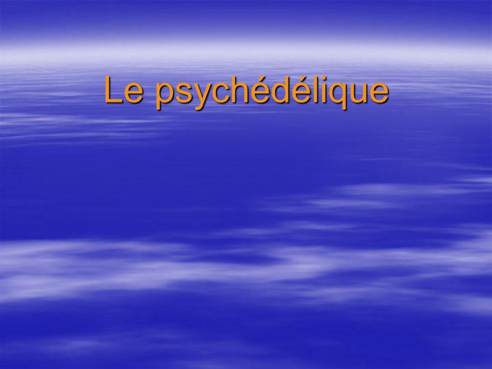 Le psychédélique
