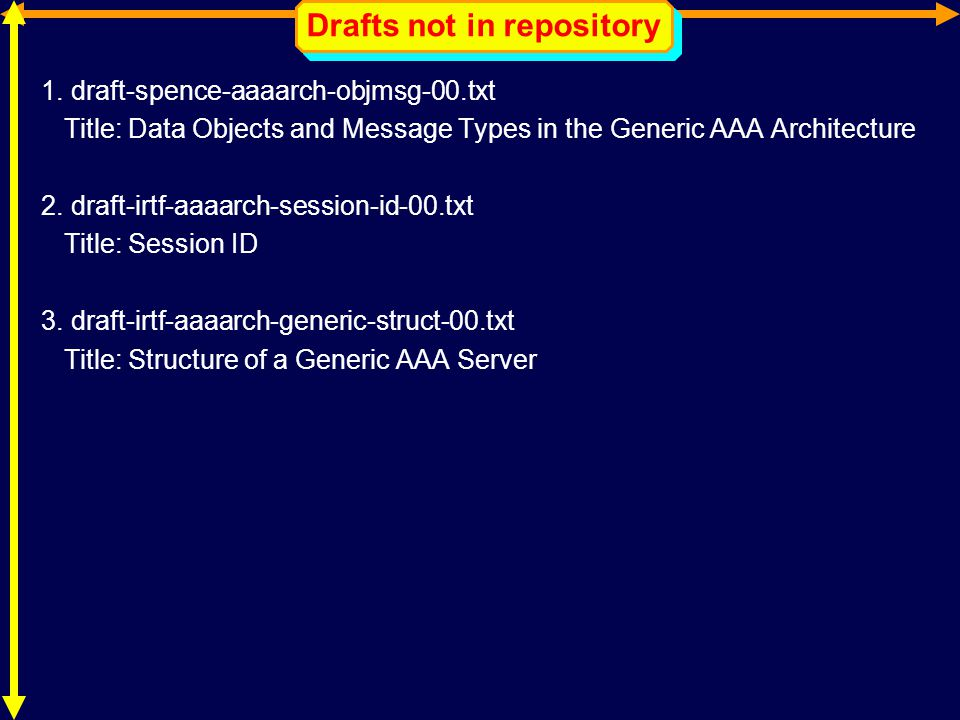 Drafts not in repository 1.