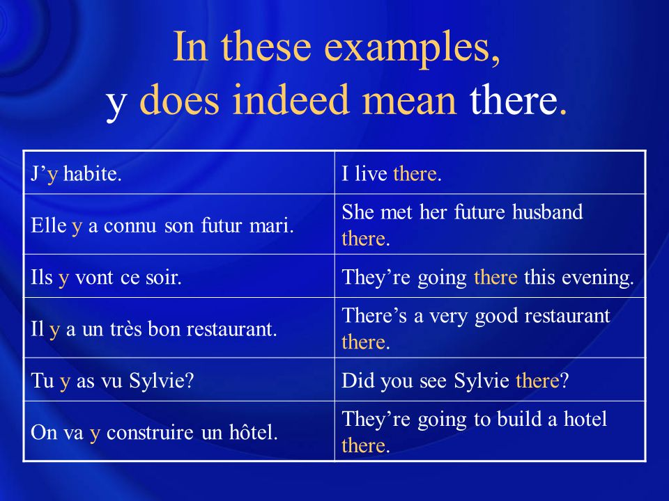 en = de + T The pronoun en can only be used to refer to inanimate objects, ideas or places.