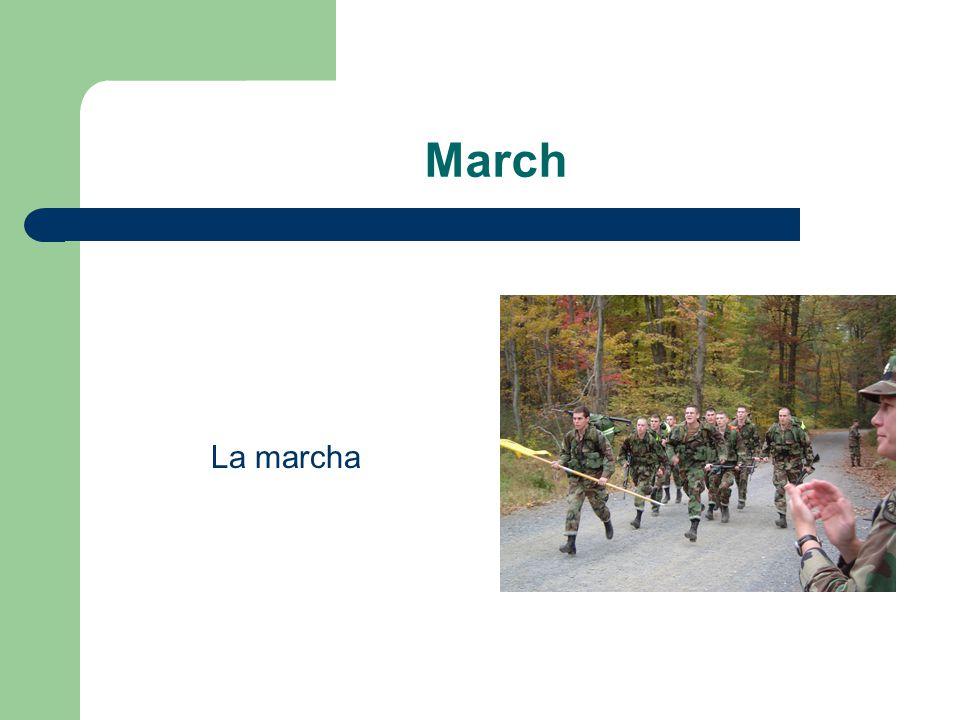 March La marcha