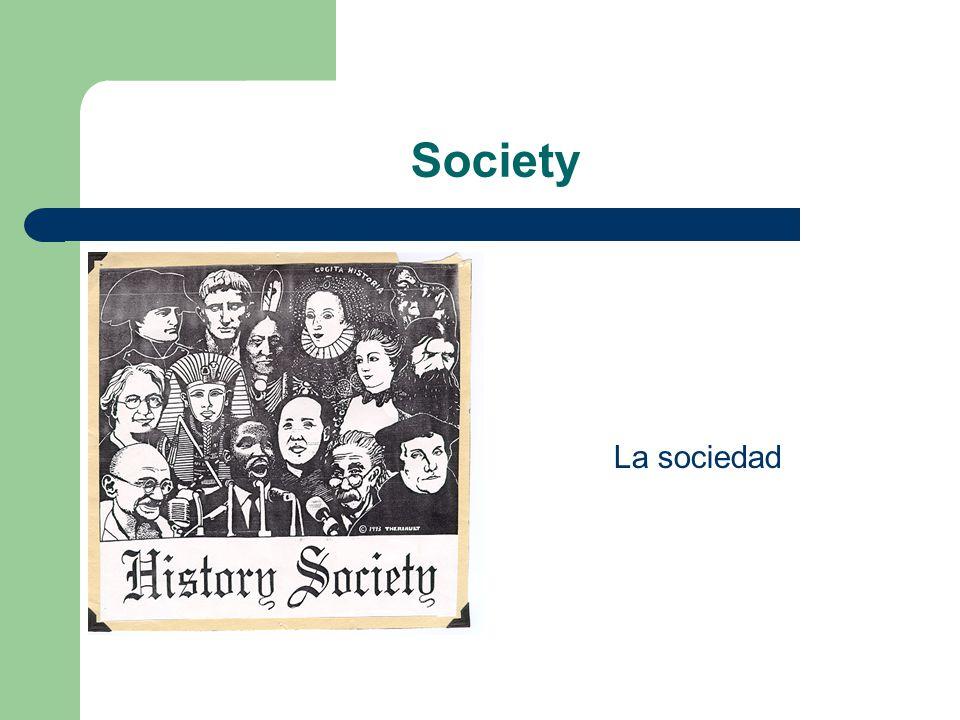 Society La sociedad