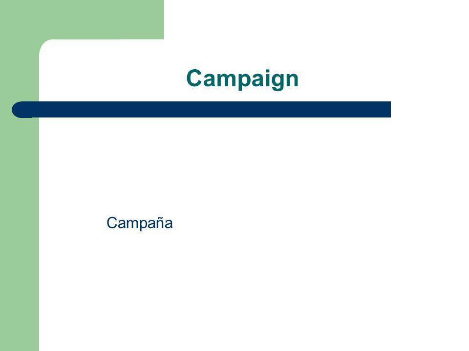 Campaign Campaña