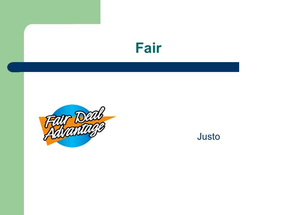 Fair Justo