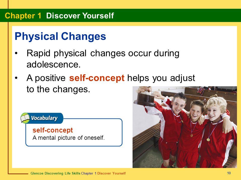 Glencoe Discovering Life Skills Chapter 1 Discover Yourself Chapter 1 Discover Yourself 10 Physical Changes Rapid physical changes occur during adoles