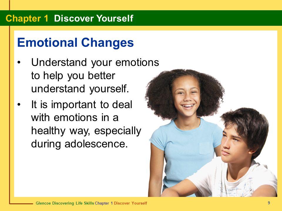 Glencoe Discovering Life Skills Chapter 1 Discover Yourself Chapter 1 Discover Yourself 10 Physical Changes Rapid physical changes occur during adolescence.