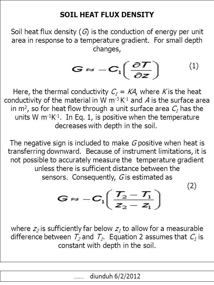 DIFUSIFITAS PANAS Thermal Diffusivity (k) is the ratio of the thermal conductivity to the volumetric heat capacity.