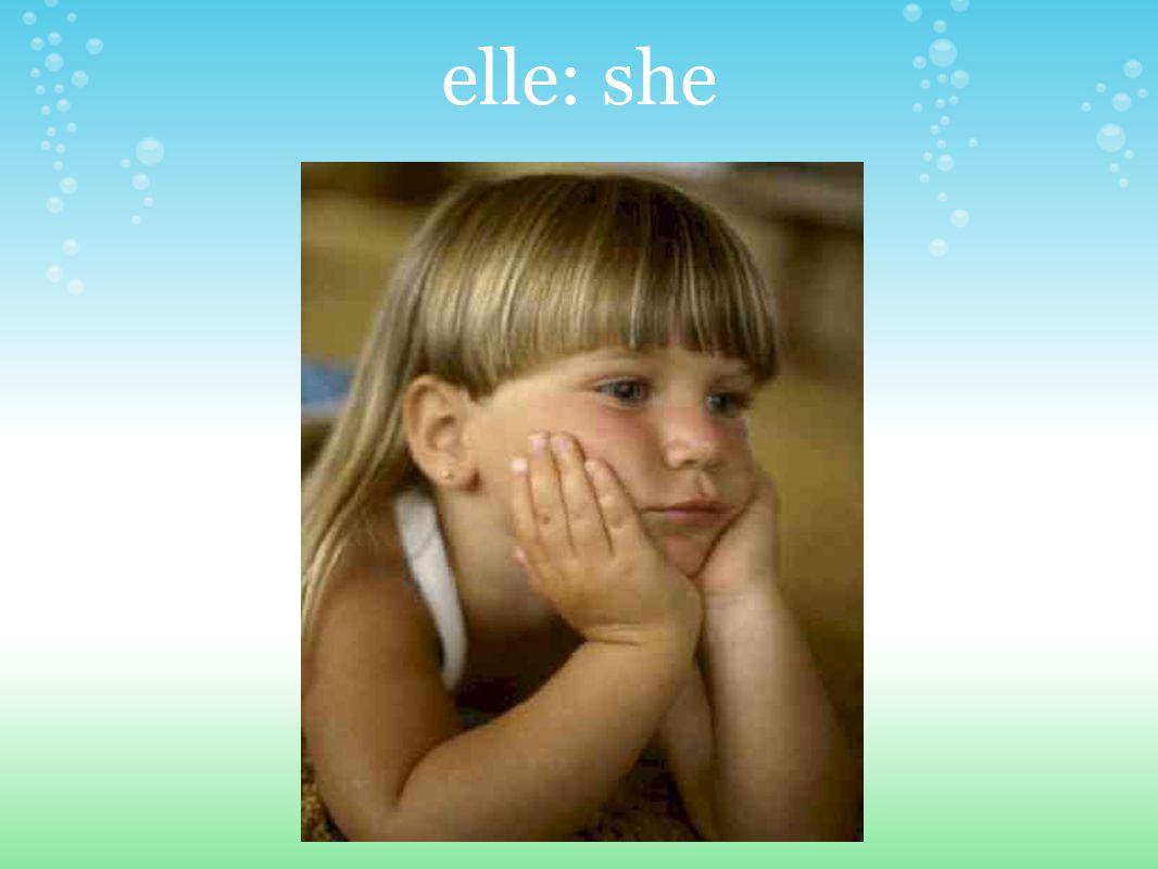 elle: she