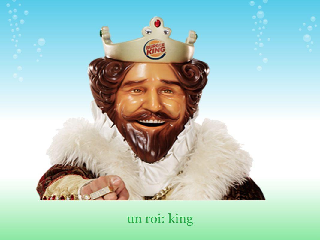 un roi: king