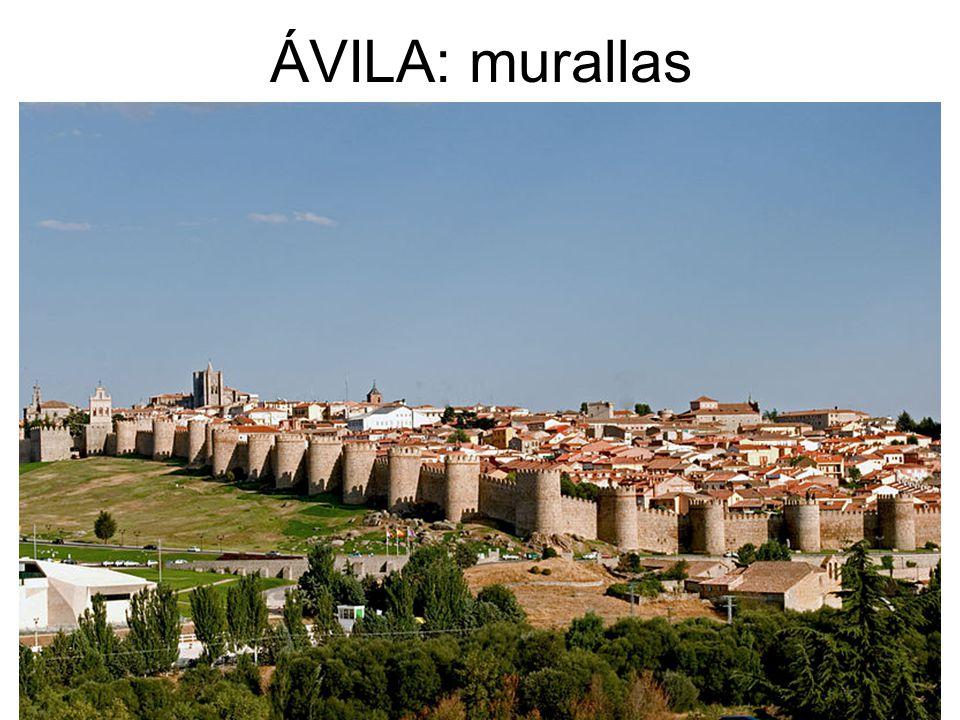 ÁVILA: murallas