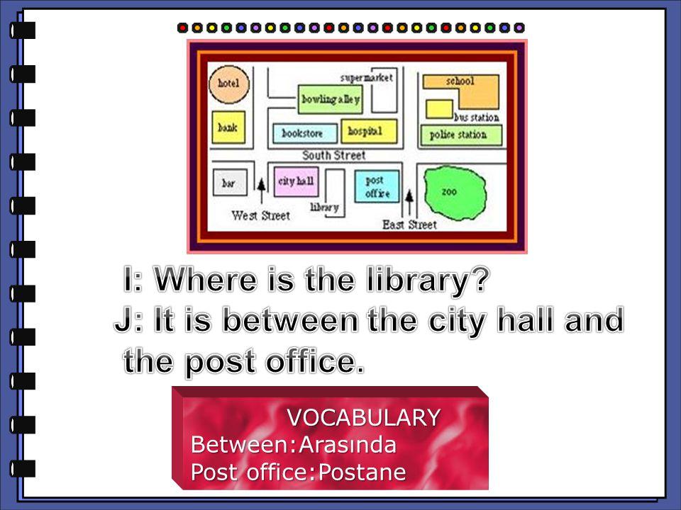 Between:Arasında Post office:Postane