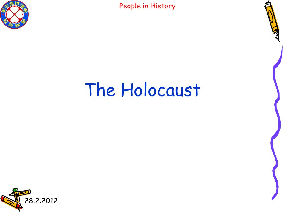 People in History 28.2.2012 The Rise of Totalitarianism in Germany and Italy
