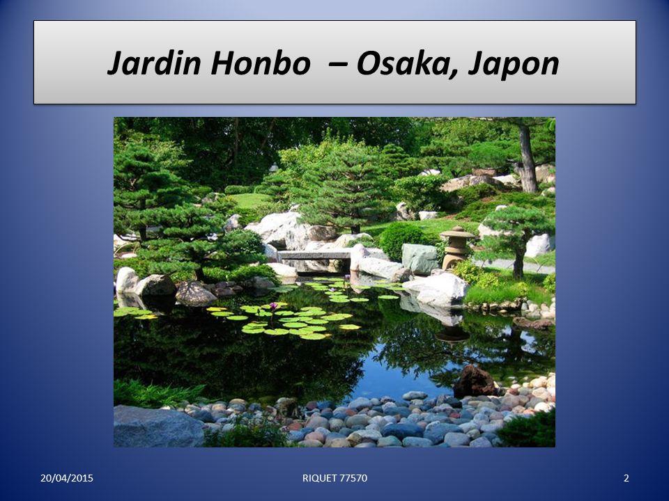 18 Etonnants jardins japonais! 20/04/20151RIQUET 77570