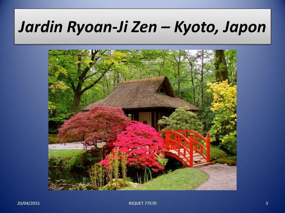 Jardin Honbo – Osaka, Japon 20/04/20152RIQUET 77570