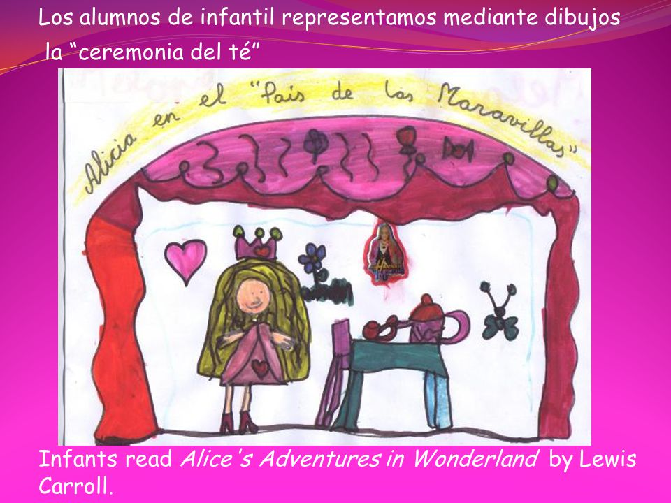 Infants read Alice s Adventures in Wonderland by Lewis Carroll.