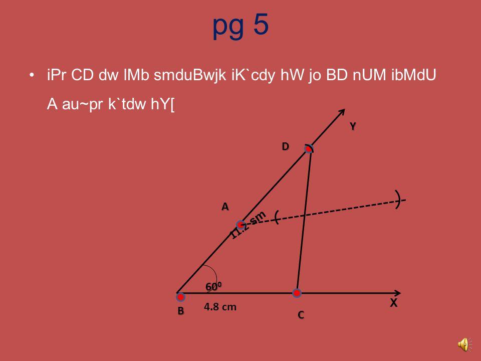 hux AsIN ibMdU C Aqy D nMU imlwauNdy hW[ pg 4 B C D Y 60 0 11.2 sm 4.8 cm X