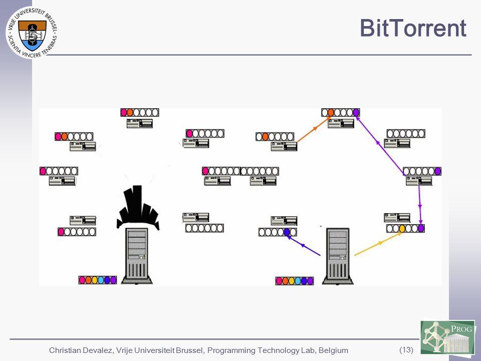 Christian Devalez, Vrije Universiteit Brussel, Programming Technology Lab, Belgium (13) BitTorrent