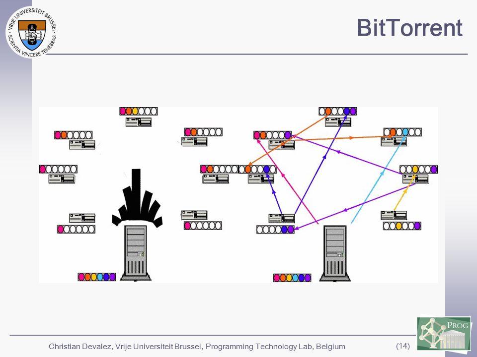Christian Devalez, Vrije Universiteit Brussel, Programming Technology Lab, Belgium (14) BitTorrent