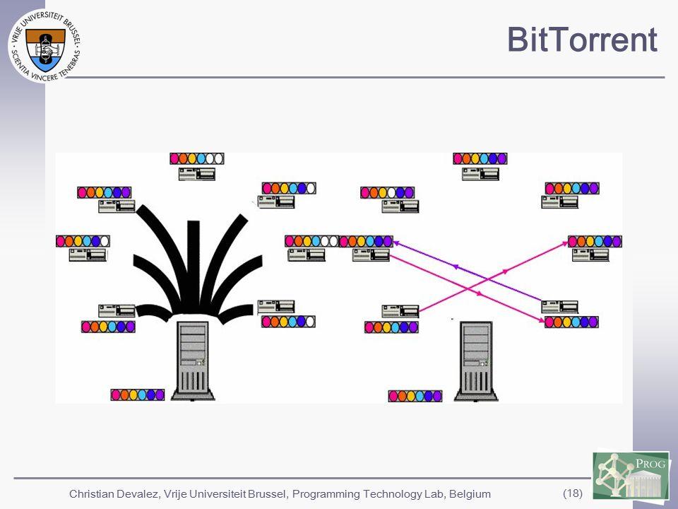 Christian Devalez, Vrije Universiteit Brussel, Programming Technology Lab, Belgium (18) BitTorrent