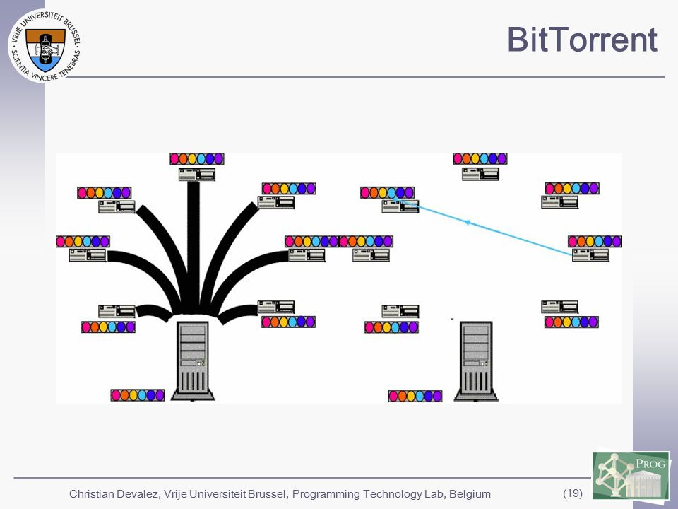 Christian Devalez, Vrije Universiteit Brussel, Programming Technology Lab, Belgium (19) BitTorrent