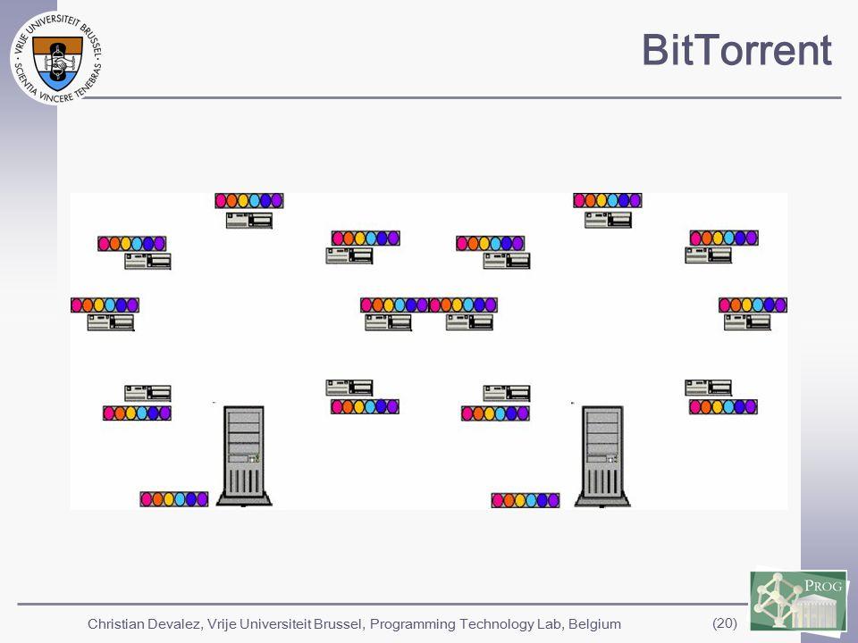Christian Devalez, Vrije Universiteit Brussel, Programming Technology Lab, Belgium (20) BitTorrent
