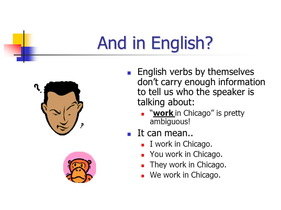 An example, please! Soy de Chicago. Soy is paired up with yo, so we know that the speaker is talking about him/herself. Eres de Miami. Eres is paired
