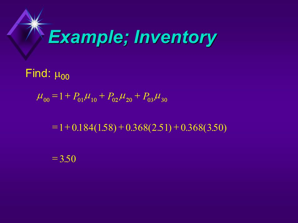 Example; Inventory Find:  00  00011002200330 1 1018415803682510368350 3    PPP.(.).(.).(.).