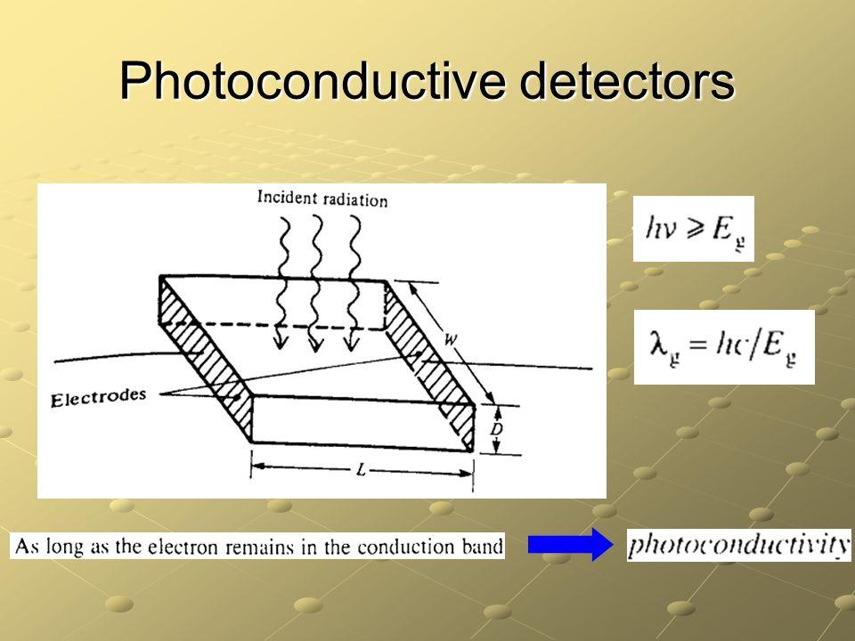 Photoconductive detectors