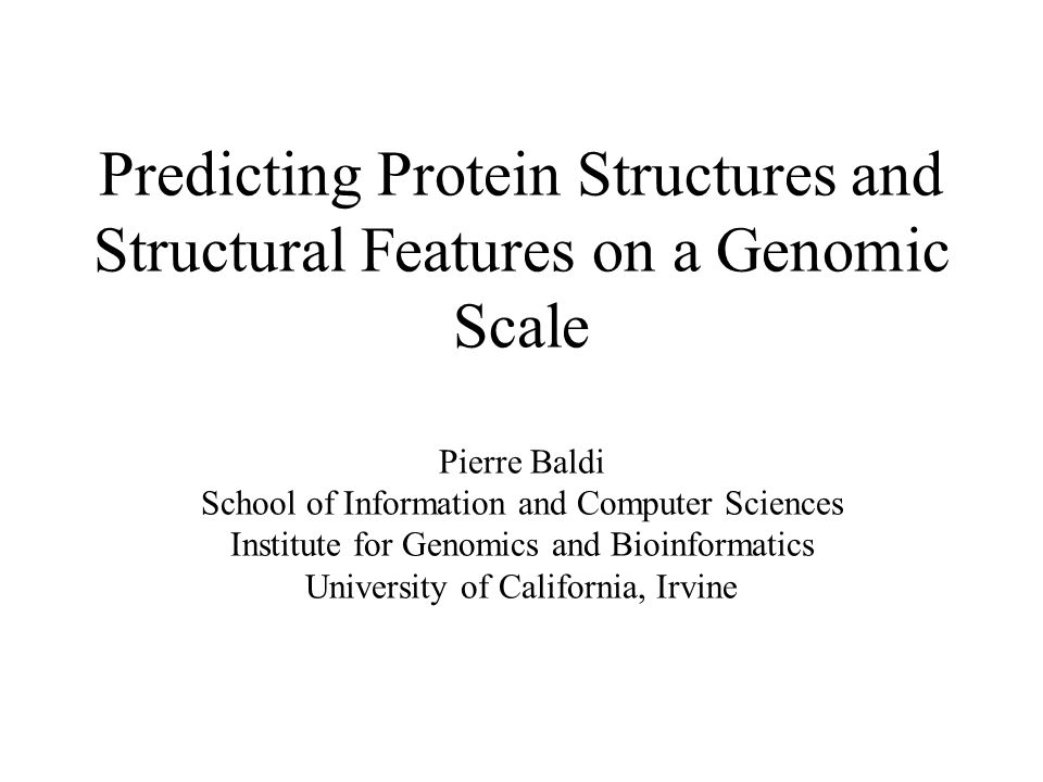 UNDERSTANDING INTELLIGENCE Human intelligence (inverse problem) AI (direct problem) Choice of specific problems is key Protein structure prediction is a good problem