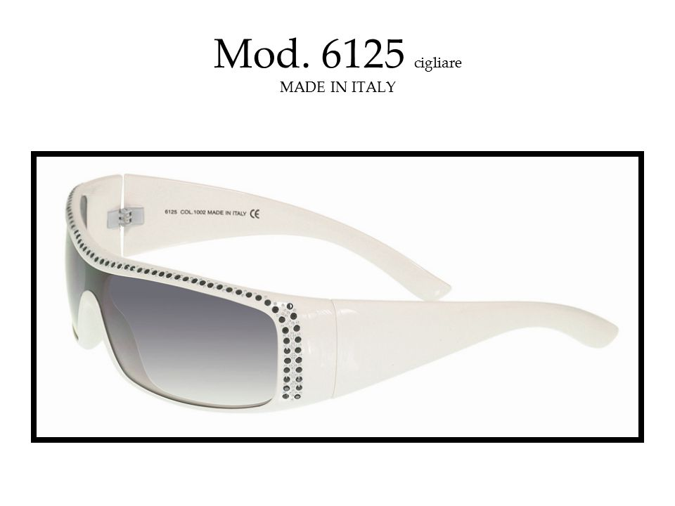 Mod. 6125 cigliare MADE IN ITALY